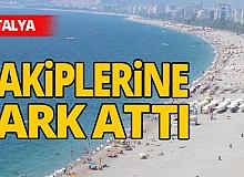 Antalya haber: 'Güvenli tatil' ile yabancı rakiplerini geride bıraktı