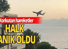 Antalya haber: Havada korkutan anlar