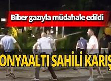 Antalya haber: İki grup birbirine girdi!
