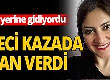 Antalya haber: İşe gitmek isterken canından oldu