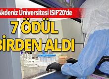 Antalya haber: İstanbul Uluslararası Buluş Fuarı'ndan Akdeniz Üniversitesi'ne ödül