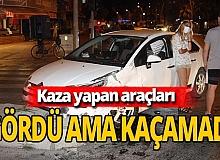 Antalya haber: Kaza yapan araçların altında kaldı