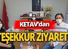 Antalya haber: KETAV'dan teşekkür ziyareti