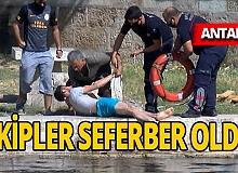 Antalya haber: Köprüde oturmak isterken canından oluyordu