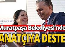 Antalya haber: Muratpaşa Belediyesi sanatçılara destek veriyor
