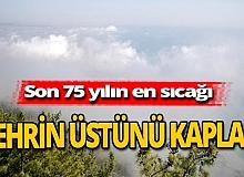 Antalya haber: Nem bulutları kenti kapladı