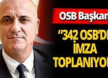 """Antalya haber: OSB Başkanı: """"El insaf diyorum"""""""