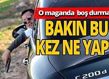 Antalya haber: 'Otoyol magandası'ndan yeni görüntüler