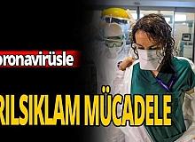 Antalya haber: Pandemiyle mücadele ! Sağlık çalışanlarının çalışma şartları