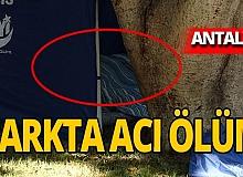 Antalya haber: Parkta ölü bulundu