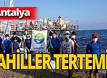 Antalya haber: Sahiller tertemiz