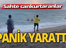 Antalya haber: Sahte cankurtaranlardan tepki çeken şaka