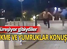 Antalya haber: Şakalaşıyor zannettiler ama tekme ve yumruklar konuştu