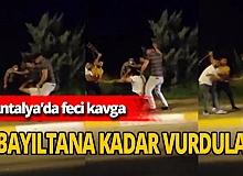 Antalya Haber: Sopalı demir çubuklu kavga