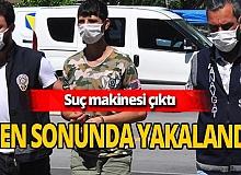 Antalya haber: Suç makinesi yakalandı