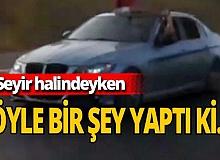 Antalya haber: Sürücü iki bacağını birden camdan çıkardı