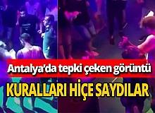 Antalya haber: Tepki çeken görüntü