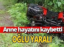 Antalya haber: Trajik kazada anne öldü, oğlu yaralı