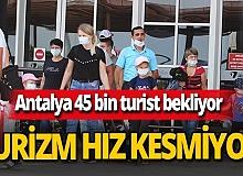 Antalya haber: Turizm bu ay da hız kesmedi