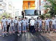 Antalya haber: Ümit Uysal asfaltı metreyle ölçtü