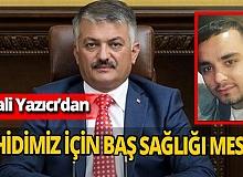 Antalya haber: Vali Ersin Yazıcı, şehidimiz için baş sağlığı mesajı yayımladı