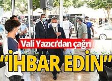 Antalya haber: Vali Yazıcı'dan koronavirüs çağrısı