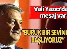 Antalya haber: Vali Yazıcı'dan mesaj var
