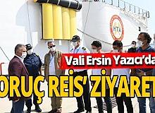 Antalya haber: Vali Yazıcı'dan Oruç Reis'e ziyaret