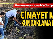 Antalya haber:  Yangın sonrası yanmış erkek cesedi