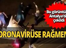 Antalya haber: Yeni evli çiftler koronavirüse meydan okudu
