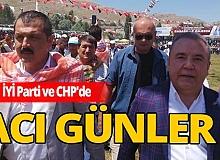 Antalya İYİ parti ve CHP'de acı günler