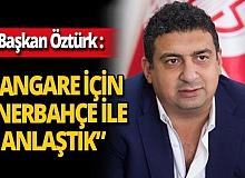 Antalyaspor Başkanı Ali Şafak Öztürk: 'Nazım Sangare için Fenerbahçe ile anlaştık'