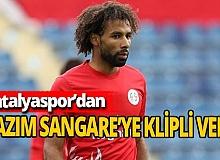 Antalyaspor'dan Nazım'a klipli veda