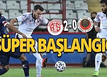 Antalyaspor-Gençlerbirliği maç sonucu