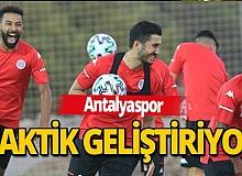 Antalyaspor, taktik geliştiriyor!