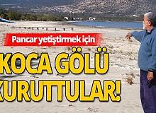 'Aral, Eğirdir ve Beyşehir Gölünü de su deposu gibi kullanıyorlar'