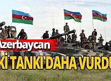 Azerbaycan iki tankı daha vurdu