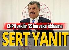 Bakan Koca'dan, CHP'li Emir'e sert tepki