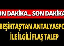 Beşiktaş Antalyaspor'a yeni koronavirüs testi yapılmasını istedi