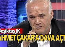 Beşiktaş'tan Ahmet Çakar'a dava