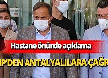CHP'den Antalyalılara çağrı