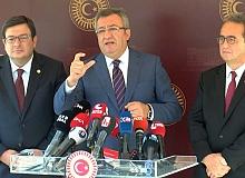 CHP'li heyetten, TBMM Başkanı Şentop'a 'Enis Berberoğlu' ziyareti