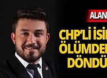 CHP'li isim Alanya'da ölümden döndü
