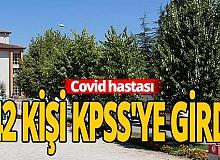 Covid hastaları KPSS'de