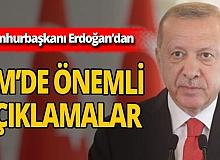 Cumhurbaşkanı Erdoğan'dan BM'de önemli açıklamalar