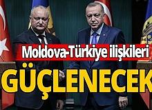Cumhurbaşkanı Erdoğan, Moldova Cumhurbaşkanı Dodon ile görüştü