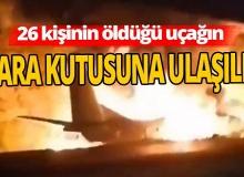 Düşen askeri uçağın kara kutusuna ulaşıldı