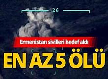 Ermenistan, Azerbaycan sınırındaki sivilleri hedef aldı