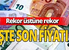 Euro durdurulamıyor!