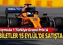 Formula 1 biletleri 15 Eylül'de satışa çıkacak